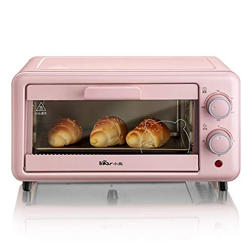 XIAOBEAR Toaster Electric oven household mini oven multi-function baking bread machine 11L small breakfast machine pink