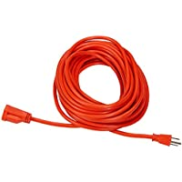 AmazonBasics 16/3 Vinyl Outdoor Extension Cord - 50 Feet...
