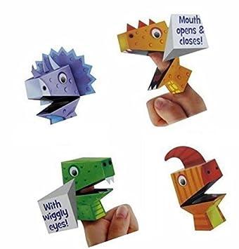 Fingerpuppen Selber Machen Dinosaurier Design Fur Kinder