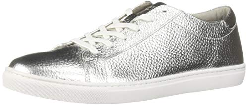 Kenneth Cole New York Men's Kam Sneaker, Silver, 9 M - Silver Sneakers Mens