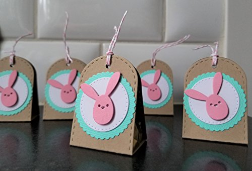 Easter Party Favors Set of 5, Easter Basket Candy Boxes