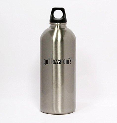 got-lazzaroni-silver-water-bottle-small-mouth-20oz