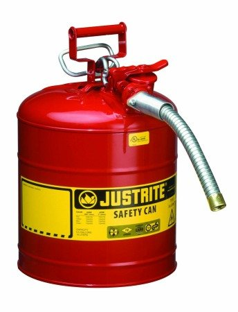 "Justrite(R) Type II AccuFlowâ""¢ Safety Cans [PRICE is per EACH] by MISCELLANEOUS"
