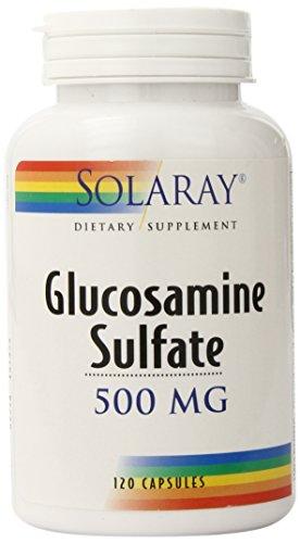 Solaray Glucosamine Sulfate Capsules, 500mg, 120 Count