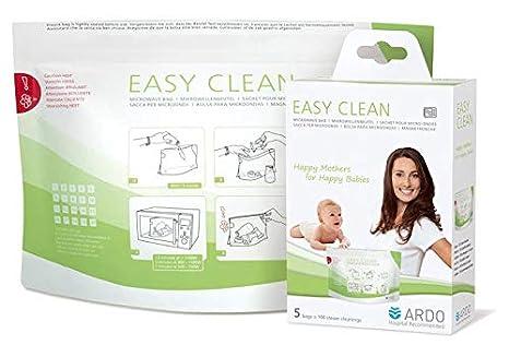 ARDO Bolsa de microondas fácil de limpiar: Amazon.es: Bebé