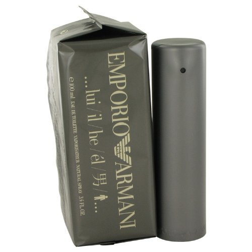 Armani Emporio Eau De Toilette Spray for Men, 3.4 - By Armani Armani Men Giorgio For Emporio