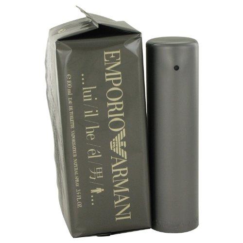Armani Emporio Eau De Toilette Spray for Men, 3.4 - By Armani Armani For Emporio Giorgio Men