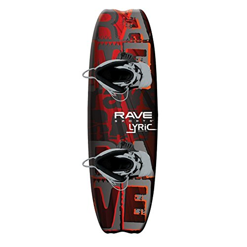 RAVE Sports Rave Lyric Wakeboard with Advantage Bindings - 141 cm.