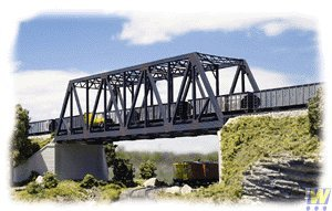 Walthers Cornerstone - Double Track Truss Bridge Kit N by Sohni-Wicke