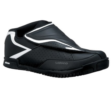 Shimano SH-AM41 Shoes Black/White, 47.0 - Men's