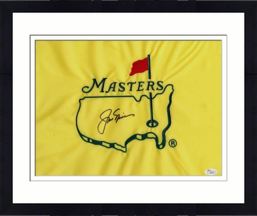 Framed Autographed Jack Nicklaus Masters Flag - JSA Certified - Autographed Pin Flags by Sports Memorabilia