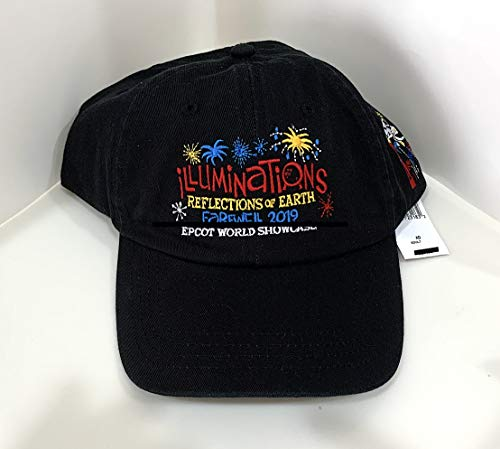 (Walt Disney World Epcot World Showcase Illuminations Reflection of Earth Farewell 2019 Hat Cap)