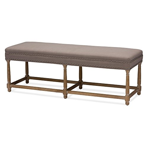 41cU 95lKZL - Baxton Studios Nathan Console Bench