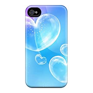 Cases Covers Compatible For Iphone 6plus/ Hot Cases/ Blue Bubble Love