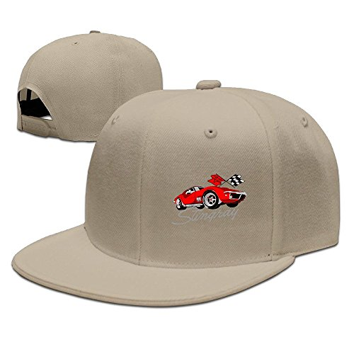 Corvette Fitted Hat Baseball