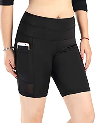 Neonysweets Womens Active Gym Workout Cycling Running Shorts