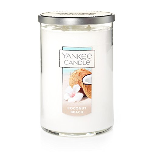 (Yankee Candle Large 2-Wick Tumbler Candle, Coconut Beach)