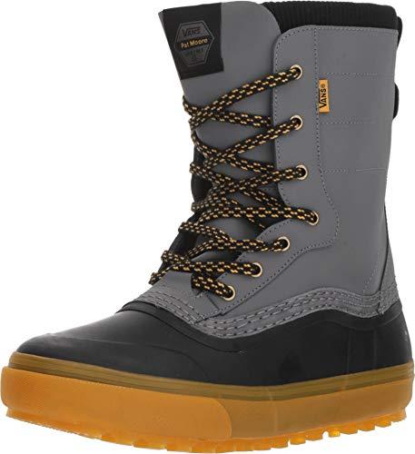 (Vans Standard Men's Snow Boot, Black/Grey (Pat Moore), 2019 (10.5 D US))