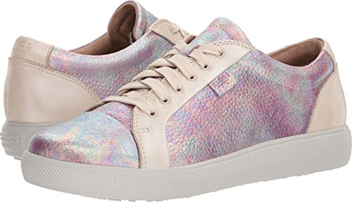 Klogs Womens Moro Sneaker Beige Bleary / Rainbow Slick