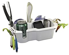 Shoreline Marine Large White SL76642 Gear Caddy W/Suction Cups