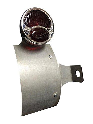 部品屋K&W SR400/500 サイドナンバーKIT (DUOテール付) ストレート P26499   B01GZPAAUI