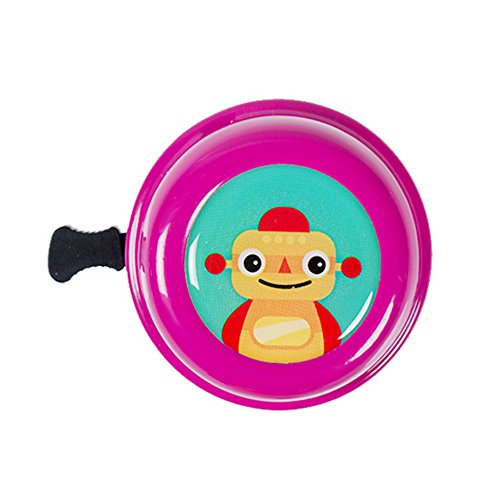 - Kids Duet Bicycle Bell, Cartoon Bike Bell - for Bike handlebars with outer diameter 20-22mm (Purple)