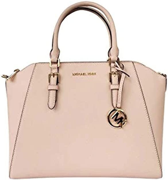 Michael Kors Women's Ciara Large Top Zip Satchel