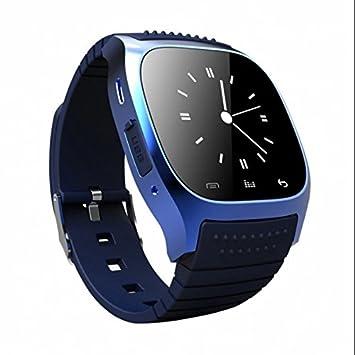 Fitness Tracker, contador de calorías, llamada SMS WhatsApp reloj inteligente, Fitness deporte reloj