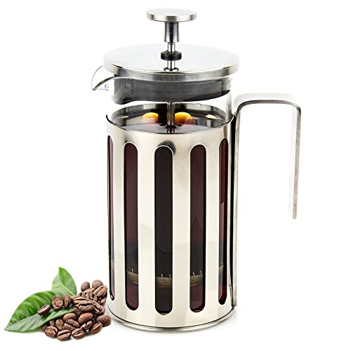 Cheap French Press Coffee/Tea Maker Glass and Stainless Steel 350ml