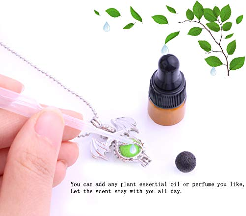 30pcs Mix Stainless Steel Tones Alloy Bead Cage Pendant - Add Your Own Pearls, Stones, Rock to Cage,Add Perfume and Essential Oils to Create a Scent Diffusing Locket Pendant Christmas Gift Charms by Yaoding (Image #4)