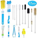 17Pcs Food Grade Multipurpose Cleaning Brush...