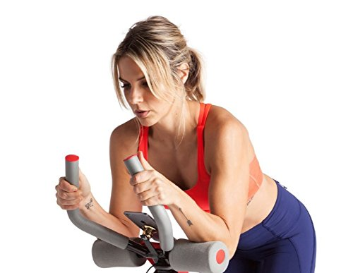 fitbill Indoor Cycle Bike with Bluetooth Scale, Workout App, Speed Sensor and 300 lb Weight Capacity