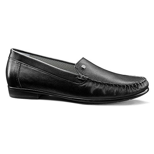 Ara Womens Brodd Slip-on Dagdriver Sort Nappa