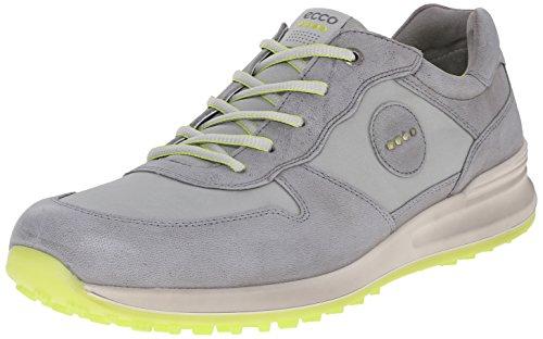 ECCO Men's Speed Hybrid Golf Shoe, Titanium/Wild Dove, 46 EU/12-12.5 M US
