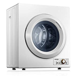 AICOOK Compact Laundry Dryer, 1400W...