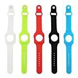 Apple Watch Silicon Case,VINDVIN 5 Colors High Quality Silicon Strap Wristband for Apple Watch (5 Pack 42mm)