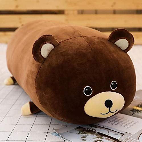 1Pc 50/60/80Cm Cute 10 Styles Animal Raccoon Seal Plush Toy Stuffed Soft Sleeping Pillow Cushion Dolls Cartoon Toys Thing You Must Have Birthday Gifts The Favourite Comic 4T Superhero Cool Must Have by LAJKS