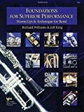 Foundations for Superior Performance : Percussion, Williams, Richard and King, Jeff, 0849770157
