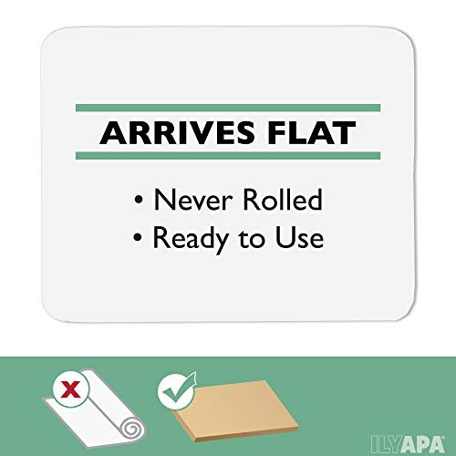 2 Pack of Office Chair Mats for Hardwood Floors 36 x 48 - Floor Mat for Desk Chairs by Ilyapa (Image #2)