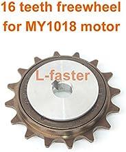 L-faster Bicycle Spoke Chain Wheel Bike Rear Wheel 32T Sprocket for Our Left Drive Motor Kit 16T Freewheel wit