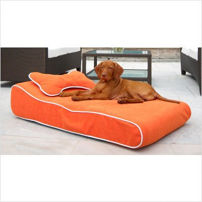 Bowsers Contour Lounger MaterialType – Avocado, My Pet Supplies