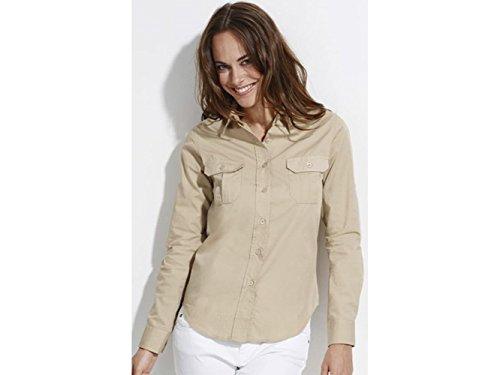 ATELIER DEL RICAMO - Camisa deportiva - para mujer Beige