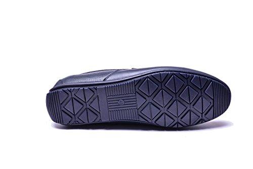 Scarpe Navy Blu Pelle Uomo Vogar Mocassini Calzature Estive VG5056 6Iw8waq0n