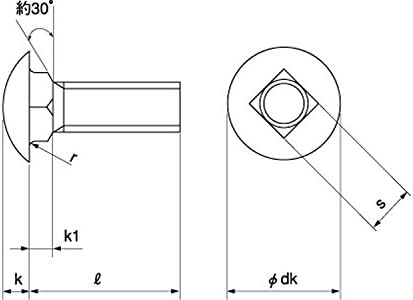 根角ボルト(ウィット) 規格(3/8X20) 入数(150)