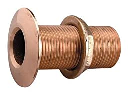 Perko 0322DP4PLB Thru-Hull Connection for Pipe, 1/2-Inch