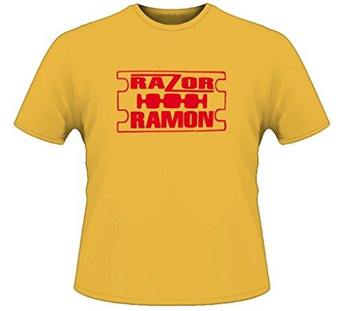 Razor Ramon Retro Wrestling T Shirt L - Razor Ramon Wwf