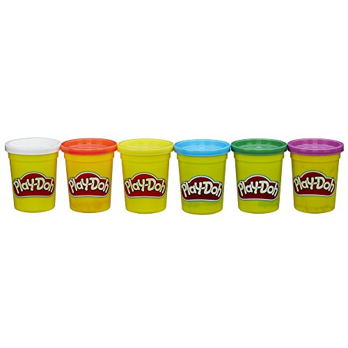 Play-Doh 4 Primary Colors Plus 2 Cans Value Pack by Play-Doh