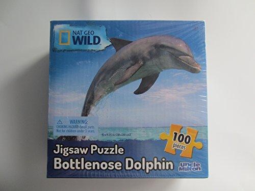 Uncle Milton Nat Geo Wild 100 piece Jigsaw Puzzle -- New -- Bottlenose Dolphin