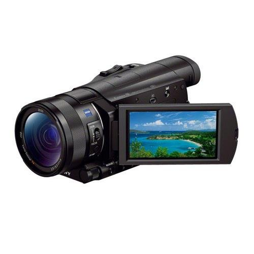 Sony FDR-AX100 4K Ultra HD Camcorder With Upgrade Accessory Bundle #FDRAX100BB