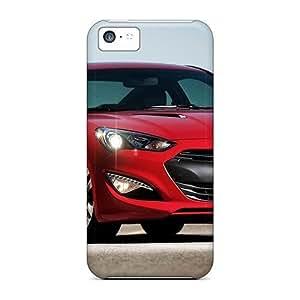MMZ DIY PHONE CASENjwlm5445wBBlO NikRun Hyundai Genesis Coupe 2013 Durable iphone 5c Tpu Flexible Soft Case